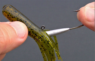 Pro tapered tube jig heads for Tube fishing lure